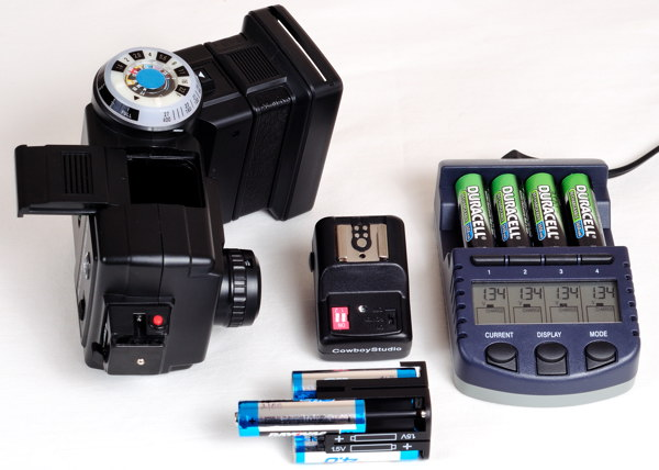 Vivitar_285HV Flash with Lacross BC-9009 Battery Charger