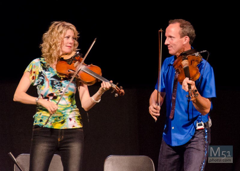 Natalie MacMaster and Husband Donnell - D7000 1/100 f5.6 iso 6400 200mm