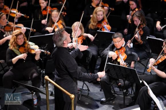 Portsmouth Symphony Orchestra – Nikon D700 1/200th f2.8 ISO 1000 135mm (70-200 VRII)